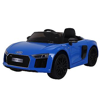 Kids Electric Car Audi R8 Spyder metallic JJ2198 EVA Tire Leather Seat Music