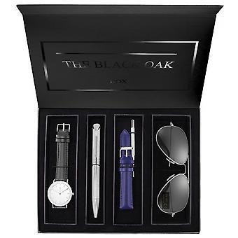 Coffret Black Oak BX97052SET-201 - Montre + Stylo + Bracelet + Paire de Solaire Femme