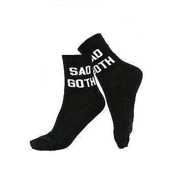 Attitude Clothing Sad Goth Socks