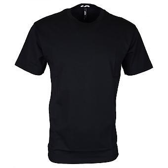 Versace Bu90497 Bj10289 Round Neck Black/grey T-shirt