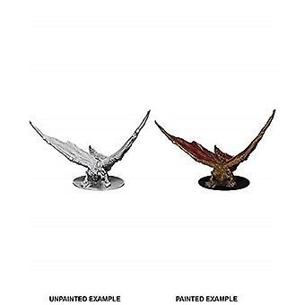 Young Brass Dragon: D&D Nolzur's Marvelous Unpainted Miniatures (W9)