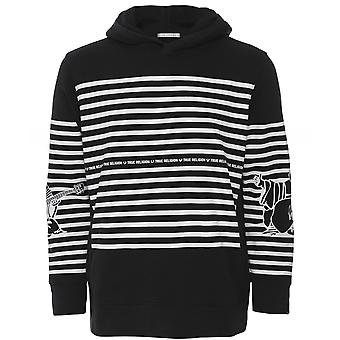 True Religion Striped Buddha Hoodie