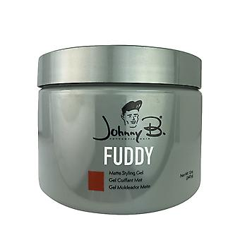 Johnny b fuddy matte styling hair gel 12 oz. jar