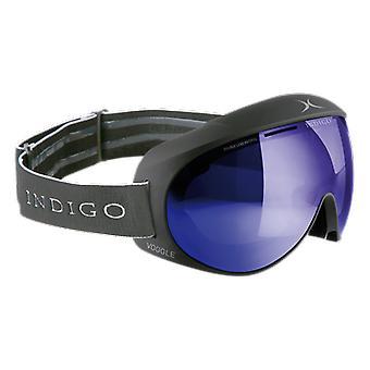אינדיגו וודיגל טיטאן מראה כחול מסכת סקי