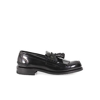CHURCH'S OREHAM D BLACK MOCCASIN