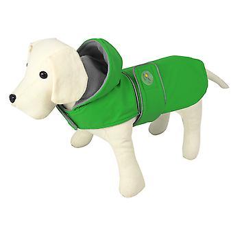 Nayeco Raincoat Dog Dancing Rain Green 20 cm (Dogs , Dog Clothes , Raincoats)