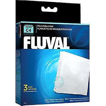Fluval C4 Foamex/Poliester (Peces , Filtros y bombas , Material filtrante)