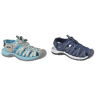 PDQ Womens/dames superlichte bloemenprint sport sandalen