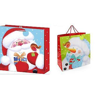 Kerst Shop reus Gift Bag