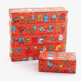 Tyrrell Katz Monsters Papier d'emballage