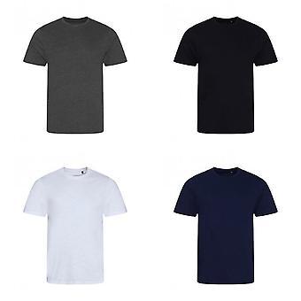 AWDis Мужская Slub T рубашка
