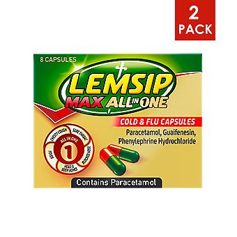 Lemsip MAX All In One 2 x 8 Kapseln