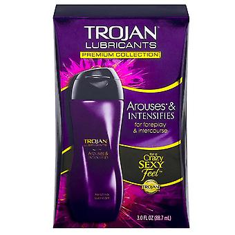 Trojan arouses & intensifies lubricant, 3 oz