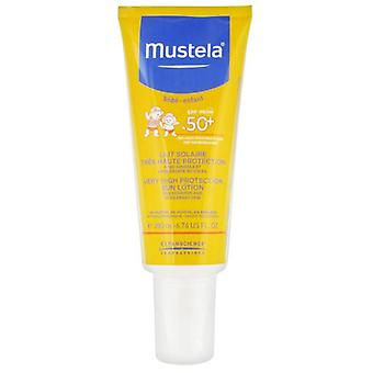 Mustela Protective Baby Lotion SPF50 + 200 ml