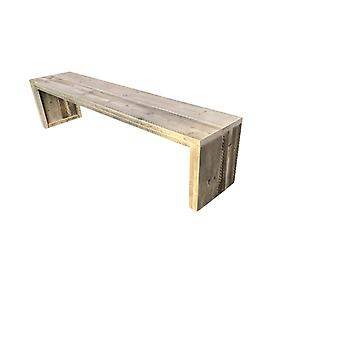 Wood4you - Garden Bank Amsterdam Gerüstholz 200Lx43Hx38D cm