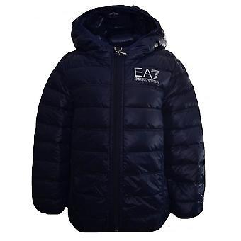 EA7 Jungen Ea7 Kids Navy Blau Daunenjacke