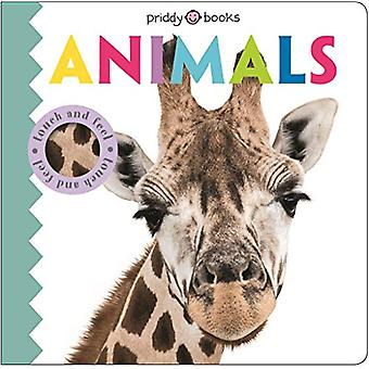 Touch & Feel Friends Animals by Roger Priddy - 9781783418299 Book