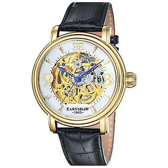 Thomas Earnshaw la montre de parquet - blanc/or/noir