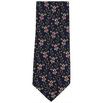 Paret av London Rudolph Polyester Tie - Navy