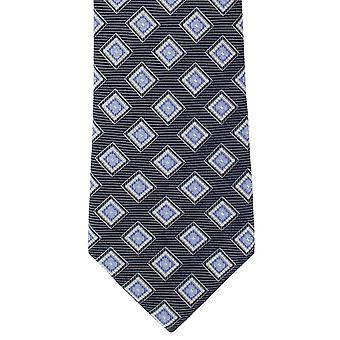 Lontoo ruutuun siisti silkki solmio - sininen Michelsons