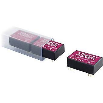 TracoPower TEL 3-1213 DC / DC محول (الطباعة) 12 V DC 15 V DC 200 mA 3 W No. من النواتج: 1 x