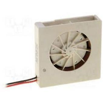 Sunon UB3F3-500 Axial fan 3 V DC 0.27 m³/h (L x W x H) 15 x 15 x 3 mm