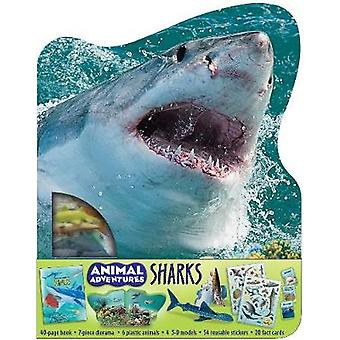 Animal Adventures - Sharks by Cynthia Stierle - 9781684126026 Book