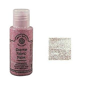 Cosmic Shimmer Sparkle Fabric Paint 50ml (Ruby Red)