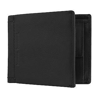 Bruno banani mannen wallet portemonnee portemonnee zwart 6399