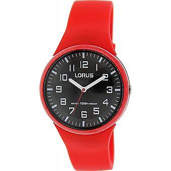 Lorus RRX59DX-9 Child's Red Silicone Strap Wristwatch