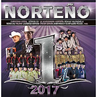 Various Artist - Norteno #1s 2017 (Wm) [CD] USA import