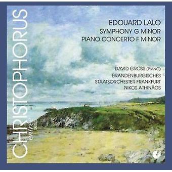 Edouard Lalo - Symphony Piano Concerto [CD] USA import