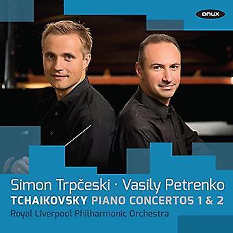 Tchaikovsky / Trpceski / Petrenko / Royal - Piano Cons 1 & 2 [CD] USA import