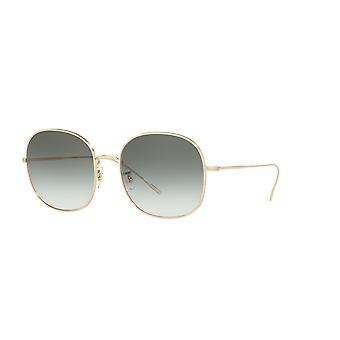 Oliver Peoples Mehrie OV1255S 50352A Soft Gold/Green Gradient Sunglasses