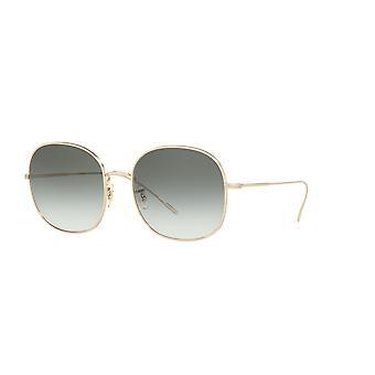 Oliver Peoples Mehrie OV1255S 50352A Mjukt guld / grön gradient solglasögon