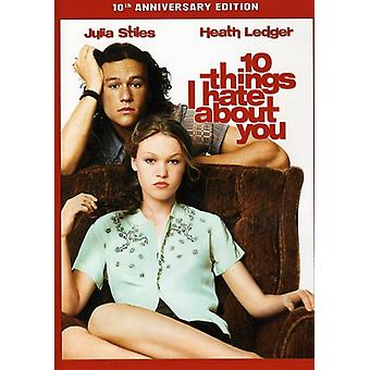 10 Things I Hate About You [DVD] USA import