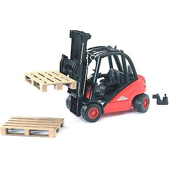 Bruder - Linde H30D Fork Lift With Pallet  1:16 02511