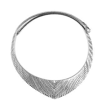 Cleopatra Necklace for Women Sterling Silver Size 17.5