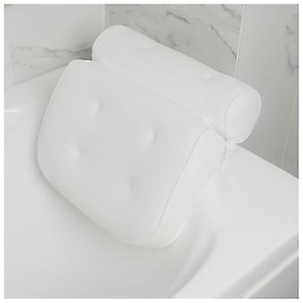 Non Slip 6 Large Suction Cups For Head Rest Cushioned Bathtub Head Rest Pillow