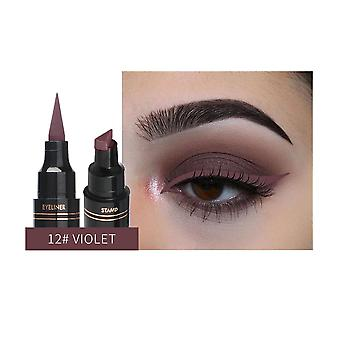 Double Head Liquid Eyeliner - Waterproof, Quick Dry Makeup Tool