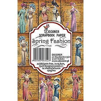 Decorer Spring Fashion Paper Pack (7x10.8cm) (M20)