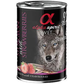 Alpha Spirit Adult Monoproteic Esturion y Fresa (Dogs , Dog Food , Wet Food)