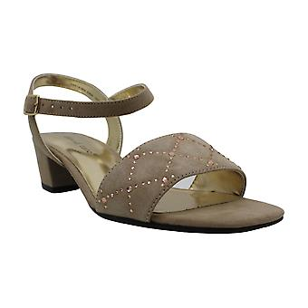 David Tate Womens Allana Fabric Open Toe Special Occasion Slingback Sandals
