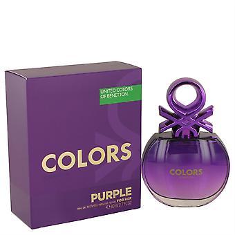 United Colors Of púrpura Benetton Eau De Toilette Spray por Benetton