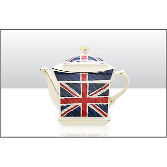 Union Jack Wear Union Jack Square Tea Pot
