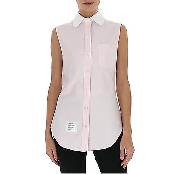 Thom Browne Fll022c02188680 Women's Pink Cotton Shirt