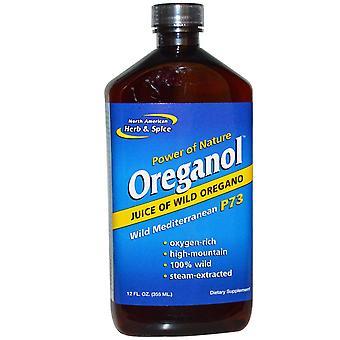 Nordamerikanska Ört & Spice, Oreganol, Vilda Medelhavet P73, 12 fl oz (355 ml)