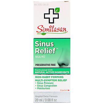 Similasan, Sinus Relief Nasal Mist, 0.68 fl oz (20 ml)
