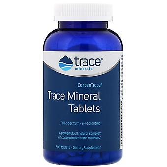 Trace Minerals Research, ConcenTrace, Trace Mineral Tablets, 300 Tabletten