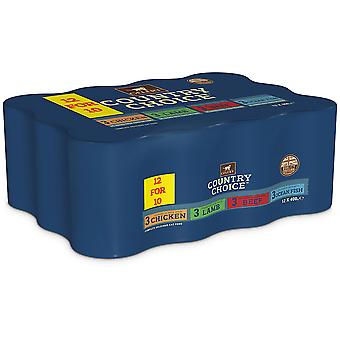 Gelert Country Choice Cat - 12x 400g (12for10)